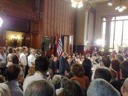 imagen del contenido Tabaré Vázquez defendió los logros del gobierno en discurso por los 40 años del Frente Amplio