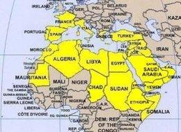 Paises Arabes Mapa | My blog