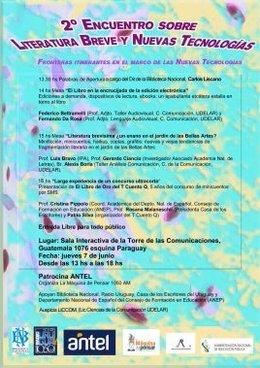 imagen del contenido 2do Encuentro sobre Literatura Breve y Nuevas Tecnologías