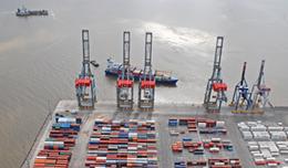 imagen del contenido Barcos paraguayos ya no tienen atraso en la carga o descarga en el puerto de Montevideo que afectaba a 2.000 contenedores