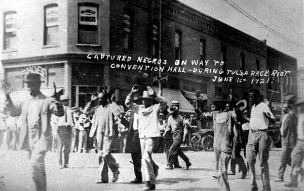Resultado de imagen de Disturbios raciales, Tulsa, 1921