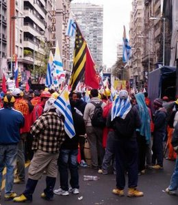 imagen del contenido Indignación en movimientos sociales: SUNCA paró en solidaridad con asesino de su expareja