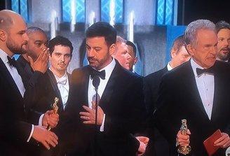 ¿Qué ocurrió en el papelón de los premios Oscar?