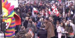 imagen del contenido Marcha en París por la 6ª República