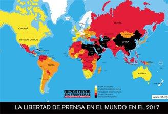 """Reporteros Sin Fronteras: Uruguay """"país modelo para la libertad de información"""""""