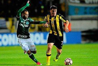 Dado vuelta: dura caída de Peñarol ante Palmeiras en partido con final bochornoso
