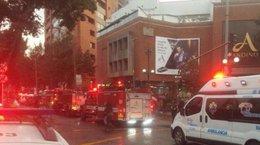 imagen del contenido Atentado en Bogotá provoca al menos tres muertos y 11 heridos