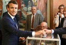 imagen del contenido El presidente Macron y su República en Marcha logran mayoría absoluta