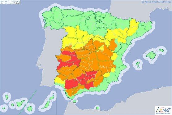 Inusual ola de calor sacude a España: pronostican 47 grados