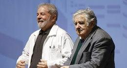 imagen del contenido Mujica y el PIT-CNT se solidarizaron con Lula