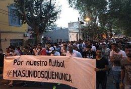 """imagen del contenido """"Más Unidos que Nunca"""" estudia paralizar el fútbol"""
