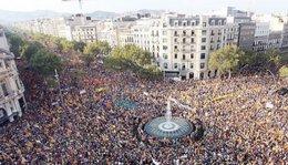 imagen del contenido Independentistas catalanes celebran fiesta nacional en histórica marcha