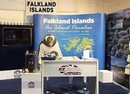imagen del contenido ¿Falkland o Malvinas? Molestia argentina, pero el stand se queda