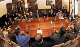 imagen del contenido Se firmó acuerdo marco laboral para segunda planta de UPM