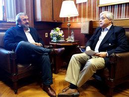 """imagen del contenido Larrañaga y Mujica: """"concertación de ideas y programas"""""""