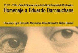 imagen del contenido Junta Departamental: Homenaje a Eduardo Daurnauchans
