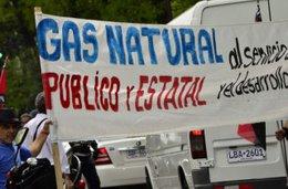 """imagen del contenido Trabajadores del gas natural desmienten a Petrobras: Denuncian """"intransigencia"""""""