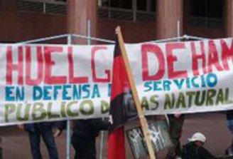 Trabajadores del gas: Levantaron huelga de hambre y el lunes negocian acuerdo