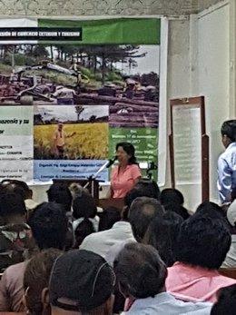 imagen del contenido Betsabeth Cortegano: Mujer, indígena y rebelde, nos habla de cómo el OSINFOR, las ONGs y el Estado peruano sabotean la producción forestal