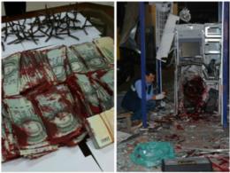imagen del contenido El ataque a los cajeros automáticos será evitado cuando se termine de implementar un sistema de entintando de los billetes que producirá su invalidación