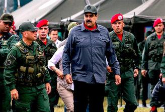 """Maduro: ejercicio militar en Venezuela contrarresta llamado a """"golpe de Estado"""" de Tillerson"""