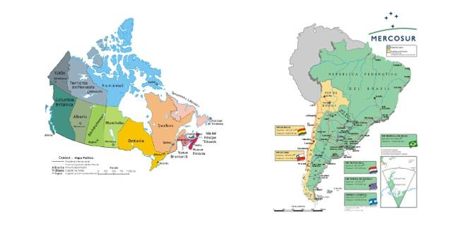 Mercosur busca concretar acuerdo con Canadá y la Unión Europea