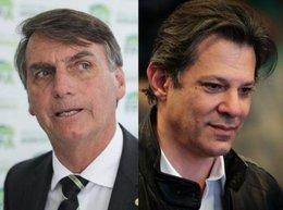 """imagen del contenido Bolsonaro acusa de """"canalla"""" a Haddad """"por pedir un protocolo ético"""" en las redes sociales"""