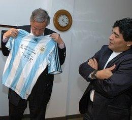 imagen del contenido El fútbol argentino de luto por fallecimiento de Néstor Kirchner