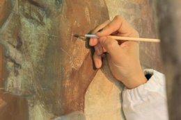 imagen del contenido Técnicos españoles y uruguayos restauraron mural de Felipe Seade en Colonia