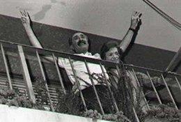 imagen del contenido Marca de la Resistencia bajo el balcón de Seregni