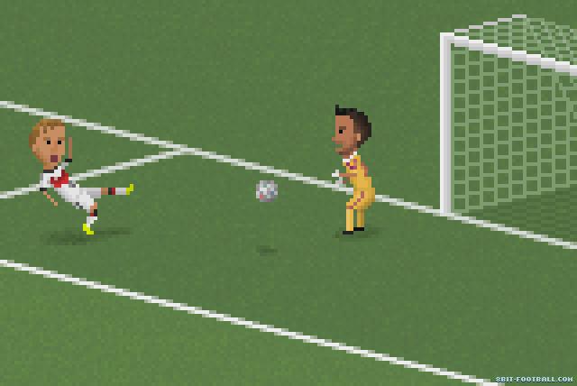 Grandes momentos del Mundial Brasil 2014 en 8 bits -- uy