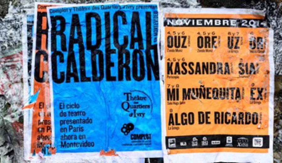 imagen de Radical Calderón: ciclo de obras de Gabriel Calderón