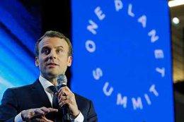 """imagen del contenido Macron sobre el """"cambio climático"""": """"Estamos perdiendo la batalla"""""""