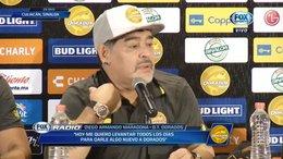 """imagen del contenido Maradona asegura que el juego México-Alemania es para verlo """"fumando faso"""""""