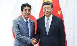 imagen del contenido Reunión en Rusia entre presidente de China y primer ministro de Japón