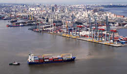 imagen del contenido Puerto de Montevideo: Movimiento de mercaderías de carga y descarga  creció 4% en el primer semestre del año