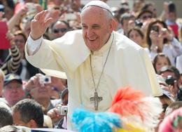 """imagen del contenido Para el papa Francisco la homosexualidad """"se ha convertido en una moda"""""""