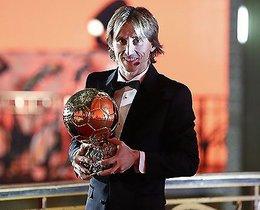 imagen del contenido El croata Modric ganó el Balón de Oro
