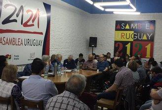 27 dirigentes, concejales y diputados renuncian a Asamblea Uruguay