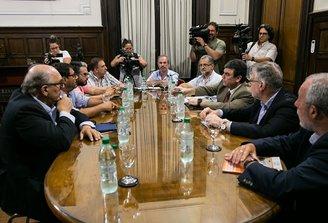 Reunión de trabajo del SMU, FFSP y ASSE con el Ministerio del Interior