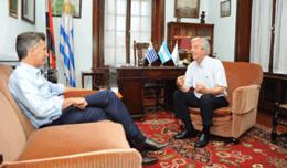imagen del contenido Macri se reúne con Vázquez este miércoles