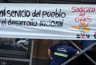 Fin del control obrero en la planta de Montevideo Gas, se produjo el desalojo