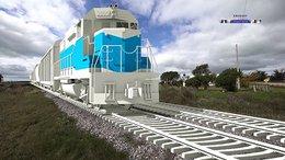 imagen del contenido Comienza la construcción del Ferrocarril Central; inversión de U$S 1.000 millones
