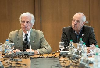 Tabaré Vázquez le asegura más poder a Miguel Ángel Toma