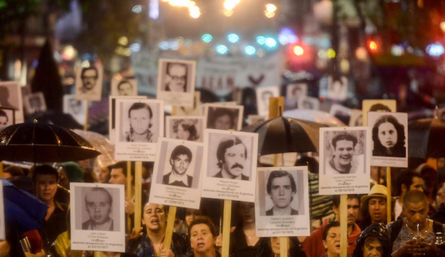 """imagen de Ex alférez Chaine Díaz procesado con prisión por """"tratos crueles inhumanos o degradantes"""" durante la dictadura"""