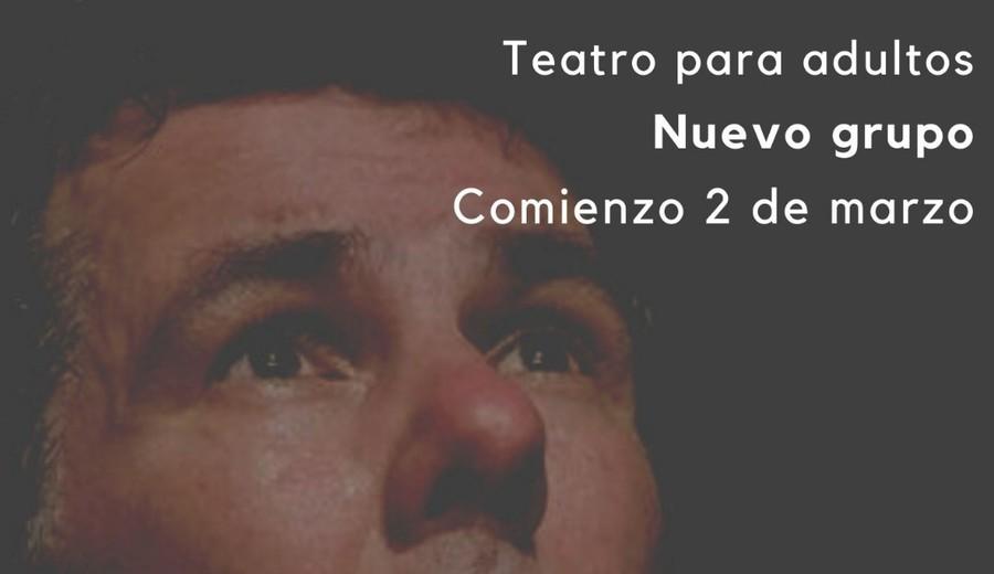 imagen de Teatro para adultos con Iván Solarich