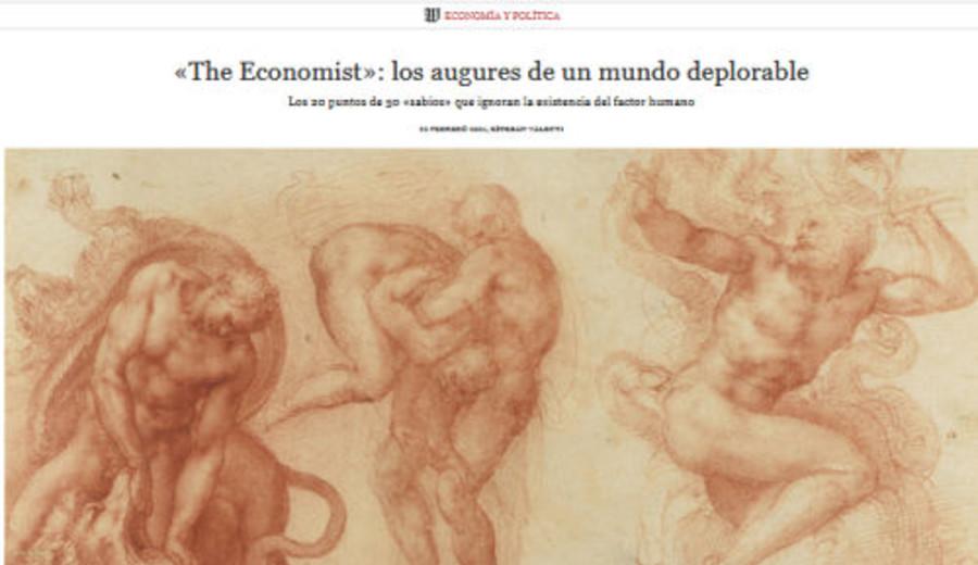 imagen de Columna de Esteban Valenti en Wall Street International: '«The Economist»: los augures de un mundo deplorable'.
