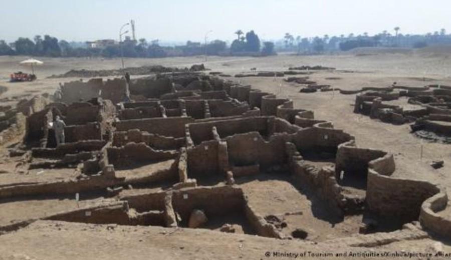 """imagen de Egipto: descubren Luxor, la """"ciudad perdida dorada"""", de 3.000 años de antigüedad"""