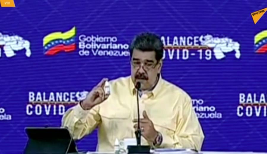 """imagen de Venezuela: Academia Nacional de Medicina afirma que las """"goticas milagrosas"""" de Maduro """"sólo sirven como enjuague bucal"""""""