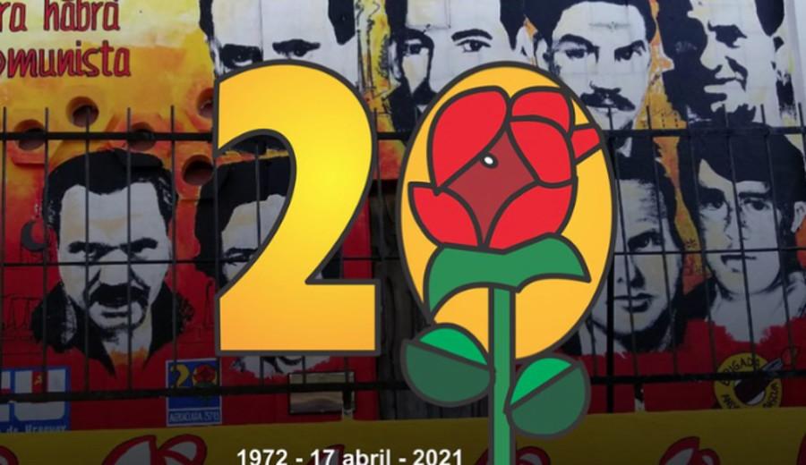 imagen de 49 años del asesinato de 8 comunistas en la Seccional 20ª. del Paso Molino